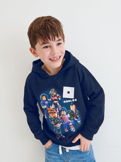 Bluza z kapturem Roblox - Granatowy