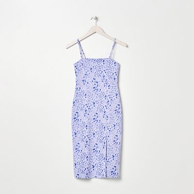 Sukienka midi - Wielobarwny