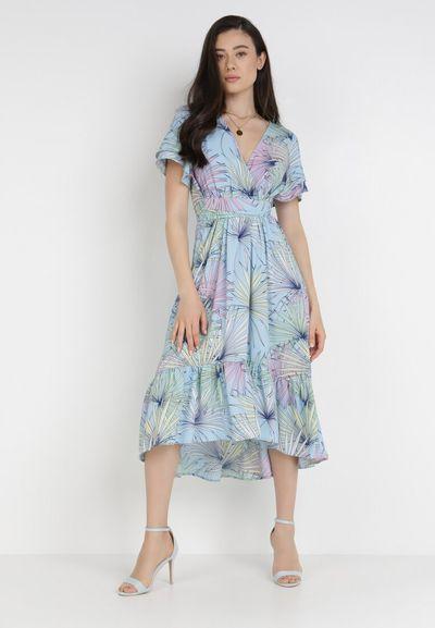 Jasnoniebieska Sukienka Isirynore
