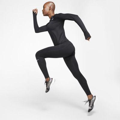 Damskie legginsy do biegania ze średnim stanem Nike Epic Luxe - Czerń