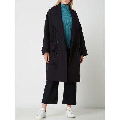 Drykorn Płaszcz wełniany z mieszanki żywej wełny model 'Hemsworth'