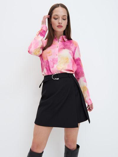 Kolorowa koszula - Wielobarwny