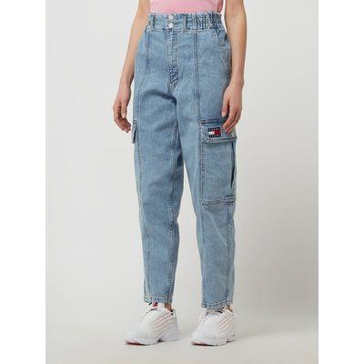 Tommy Jeans Jeansy cargo o kroju relaxed fit z dodatkiem streczu