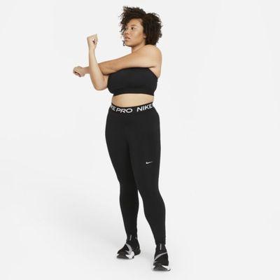 Legginsy damskie (duże rozmiary) Nike Pro 365 - Czerń