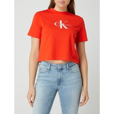 Calvin Klein Jeans Krótki T-shirt — 'Better Cotton Initiative'