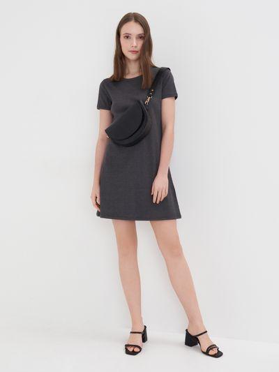 Sukienka mini - Szary