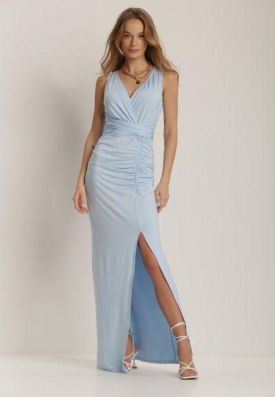 Jasnoniebieska Sukienka Alphophe