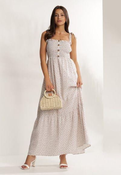 Kremowa Sukienka Periliria