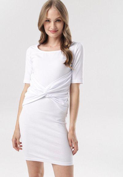 Biała Sukienka Diothise