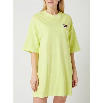 Tommy Jeans Sukienka koszulowa z bawełny ekologicznej