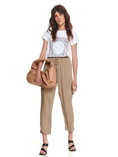 Spodnie długie damskie luźne