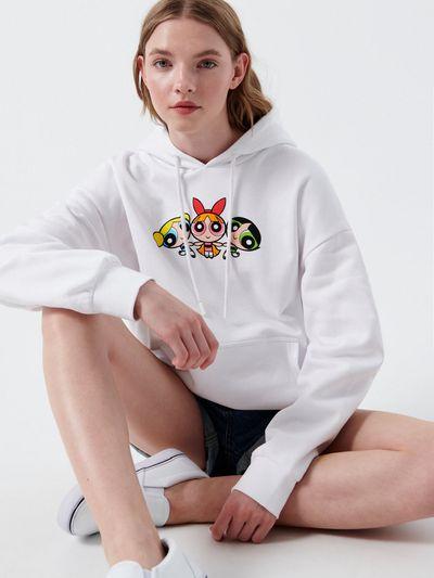 Bluza z Atomówkami - Biały