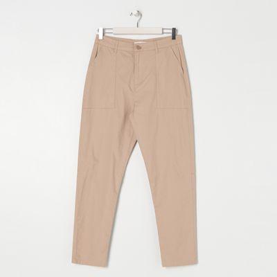 Spodnie slim fit - Beżowy