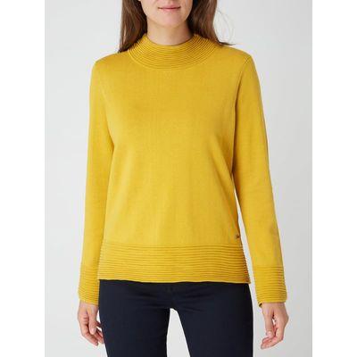 Esprit Sweter z mieszanki bawełny ekologicznej