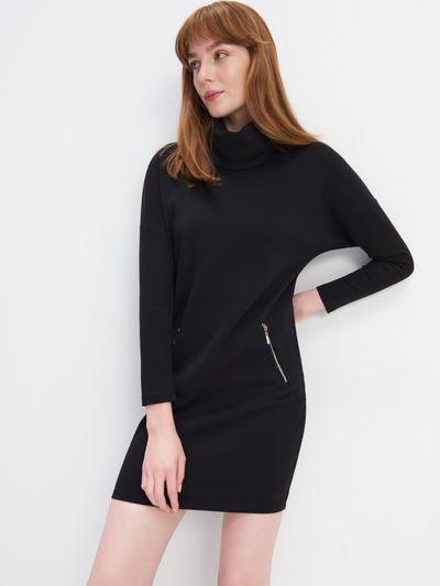 Sukienka z bawełną organiczną Eco Aware - Czarny