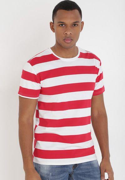 Czerwono-Biały T-shirt Jenniros