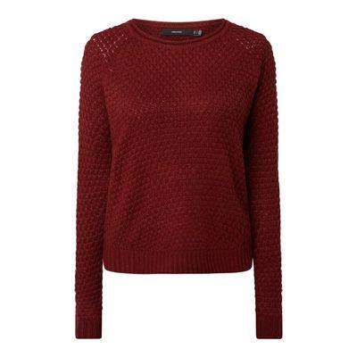 Vero Moda Sweter PLUS SIZE z raglanowymi rękawami model 'Esme'