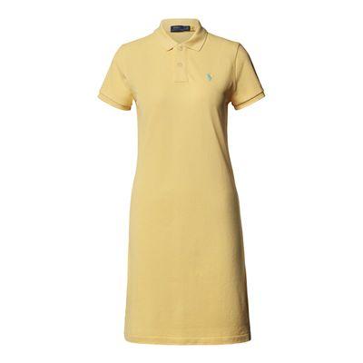 Polo Ralph Lauren Sukienka o kroju regular fit z kołnierzykiem polo