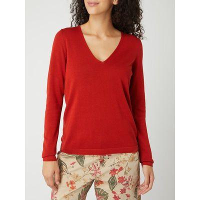 s.Oliver RED LABEL Sweter z mieszanki bawełny i wiskozy
