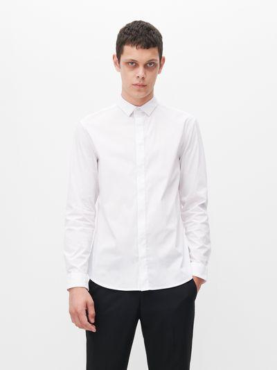 Koszula super slim fit - Biały