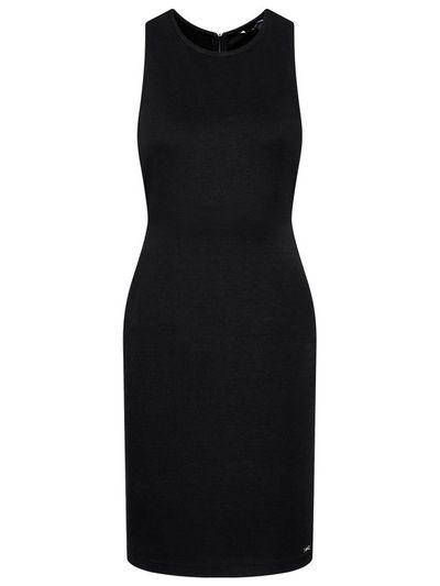 Armani Exchange Sukienka codzienna 8NYA94 YJB3Z 1200 Czarny Slim Fit