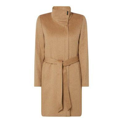 Esprit Collection Płaszcz z paskiem w talii