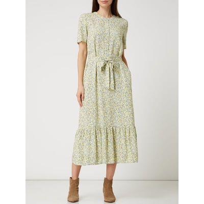 Jake*s Casual Sukienka z wiskozy w kwiatowy wzór