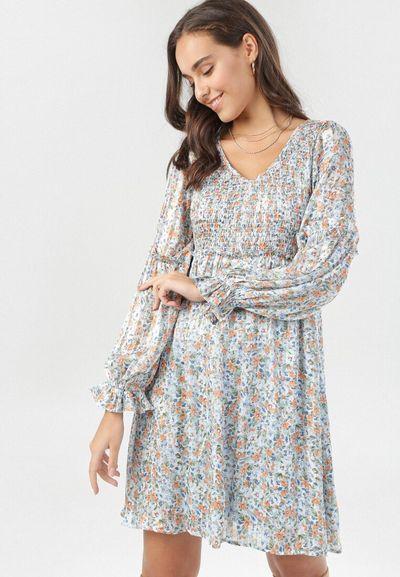 Jasnoniebieska Sukienka Balxalim