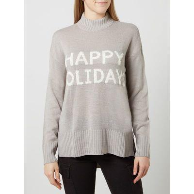 Vero Moda Sweter z napisem
