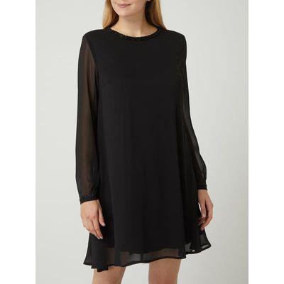 Montego Sukienka z szyfonu obszyta wolantem