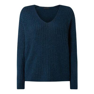 Drykorn Sweter z prążkowaną fakturą model 'Linna'