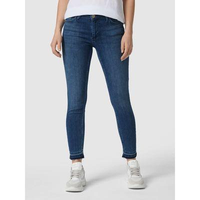 Rich & Royal Jeansy skrócone z niewykończonymi zakończeniami nogawek