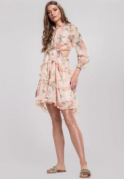 Jasnobeżowa Sukienka Tangibility