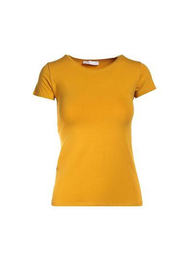Camelowy T-shirt Echolaira