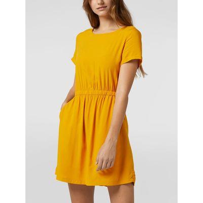 REVIEW Sukienka z gumką w talii