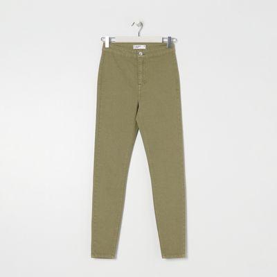 Spodnie jeansowe skinny - Zielony