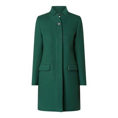 Closed Płaszcz wełniany z mieszanki żywej wełny i kaszmiru model 'Pori'