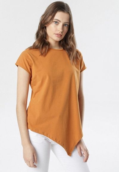 Camelowy T-shirt Pherogenia