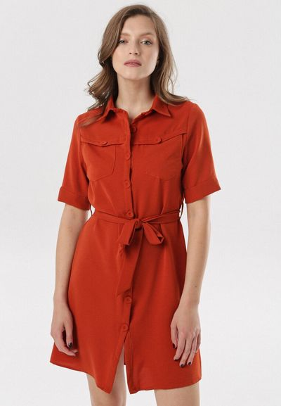 Łososiowa Sukienka Pantariste