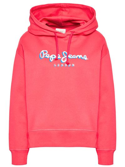 Pepe Jeans Bluza Brigitte PL581082 Różowy Regular Fit
