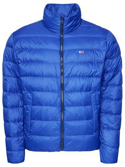 Tommy Jeans Kurtka puchowa Tjm Packable Light Down DM0DM08678 Niebieski Regular Fit
